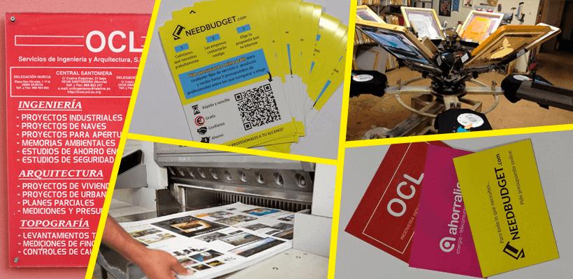 Presupuesto Impresión y Serigrafía en Murcia needbudget